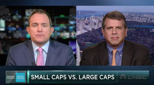 Nick Colas on CNBC Discussing Tech and Small Caps