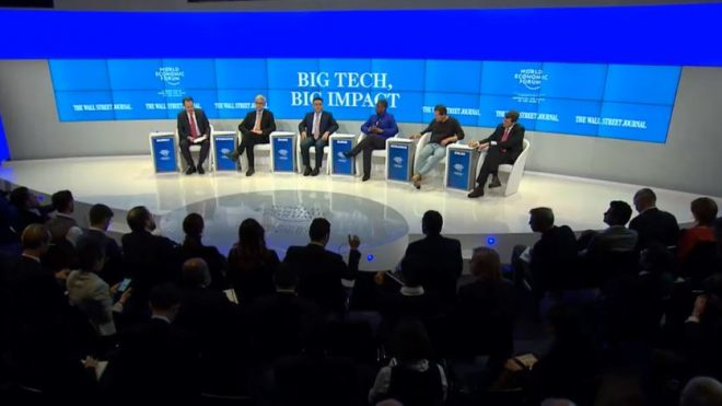 Behind the Velvet Rope: Davos Tech Roundtable