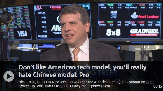 Don't like American tech model, you'll really hate Chinese model
