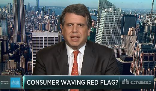 CNBC: Trade war or not, analyst Nick Colas worries that consumer spending will dangerously weaken and hurt stocks