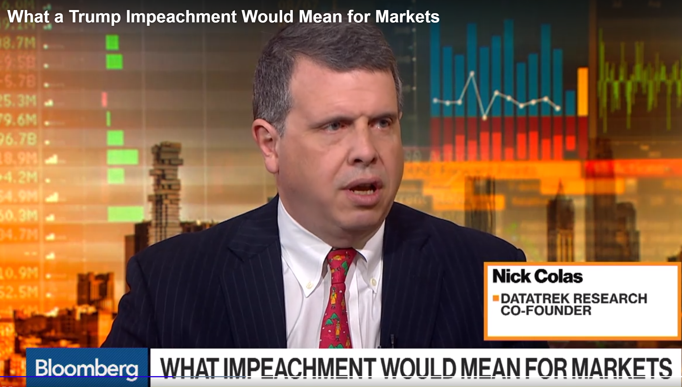 "Bloomberg: ""What a Trump Impeachment Would Mean for Markets"