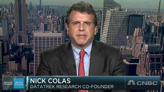 "CNBC: ""Broken correlation between stocks and bonds is taking risk to 20-year highs, analyst Nick Colas warns"""