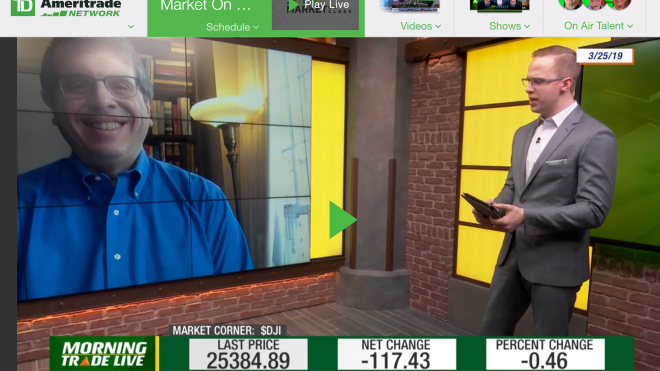 DataTrek's Nick Colas on the TD Ameritrade Network