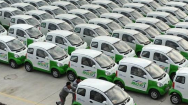 China's Electric Vehicle Glut