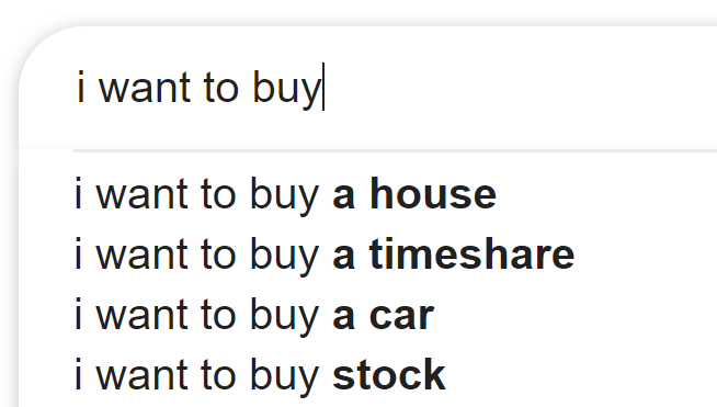 Bacon Cheeseburger Inflation and Google Autofills
