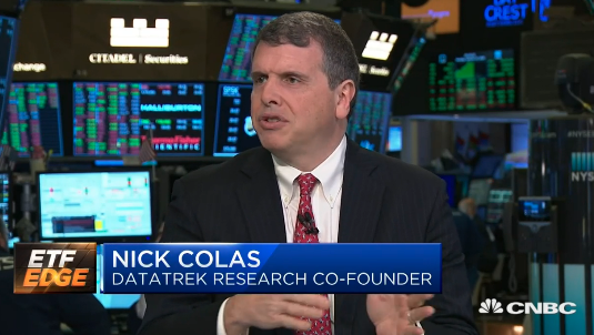 DataTrek's Nick Colas on CNBC's ETF Edge